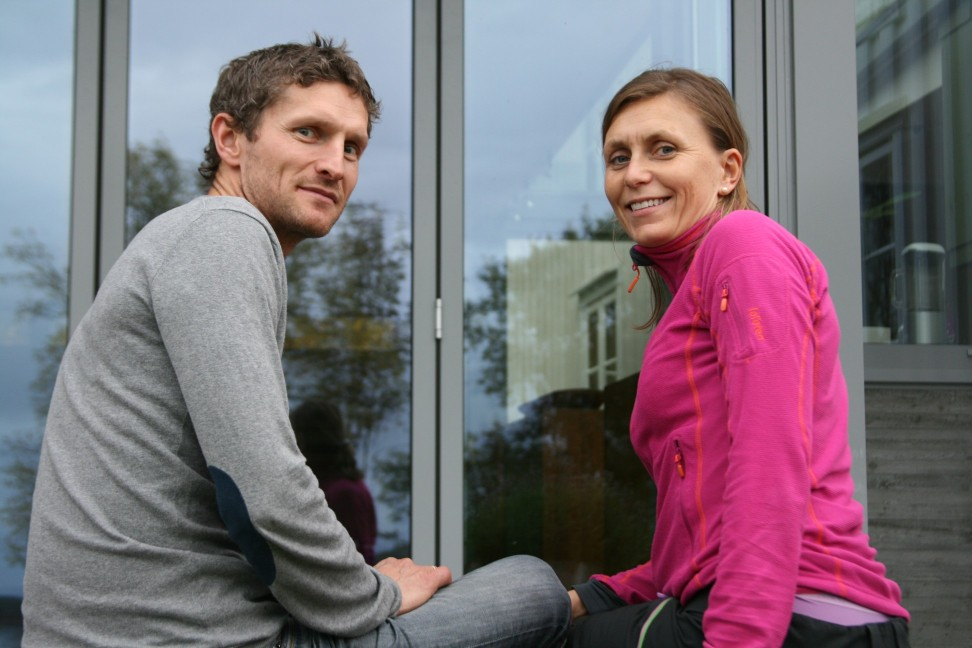 Torgeir Bye and wife